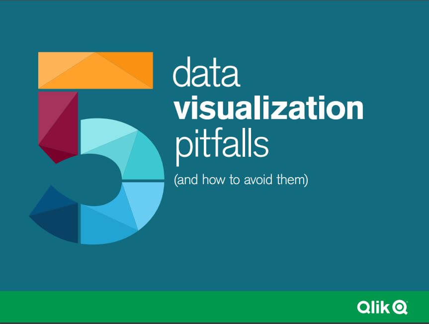 front cover of 5 data visualisation pitfalls ebook